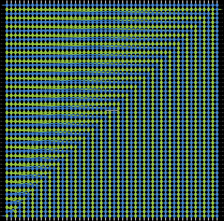 Alpha pattern #14835 pattern