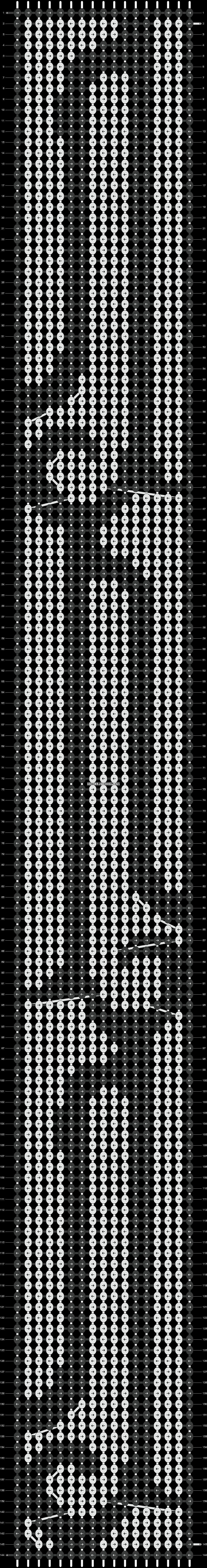 Alpha pattern #14836 pattern