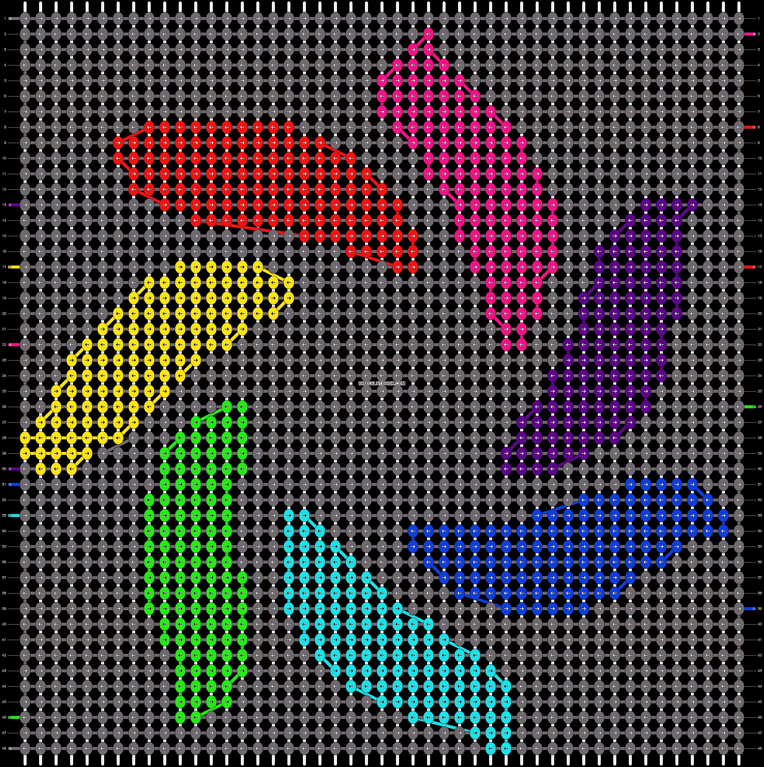 Alpha pattern #14837 pattern