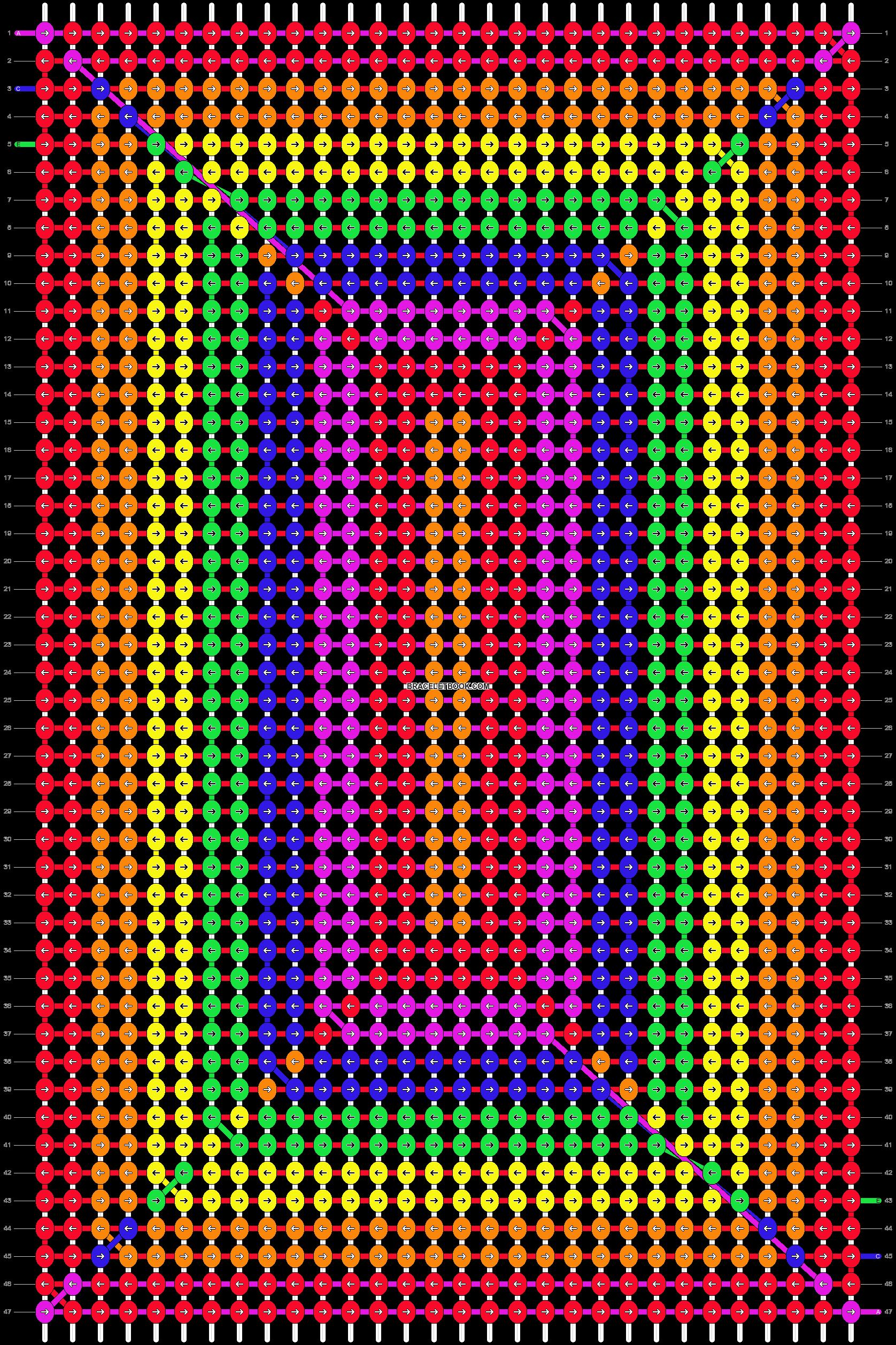Alpha pattern #14860 pattern
