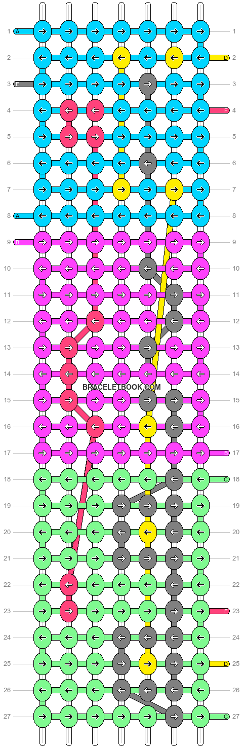 Alpha pattern #14866 pattern