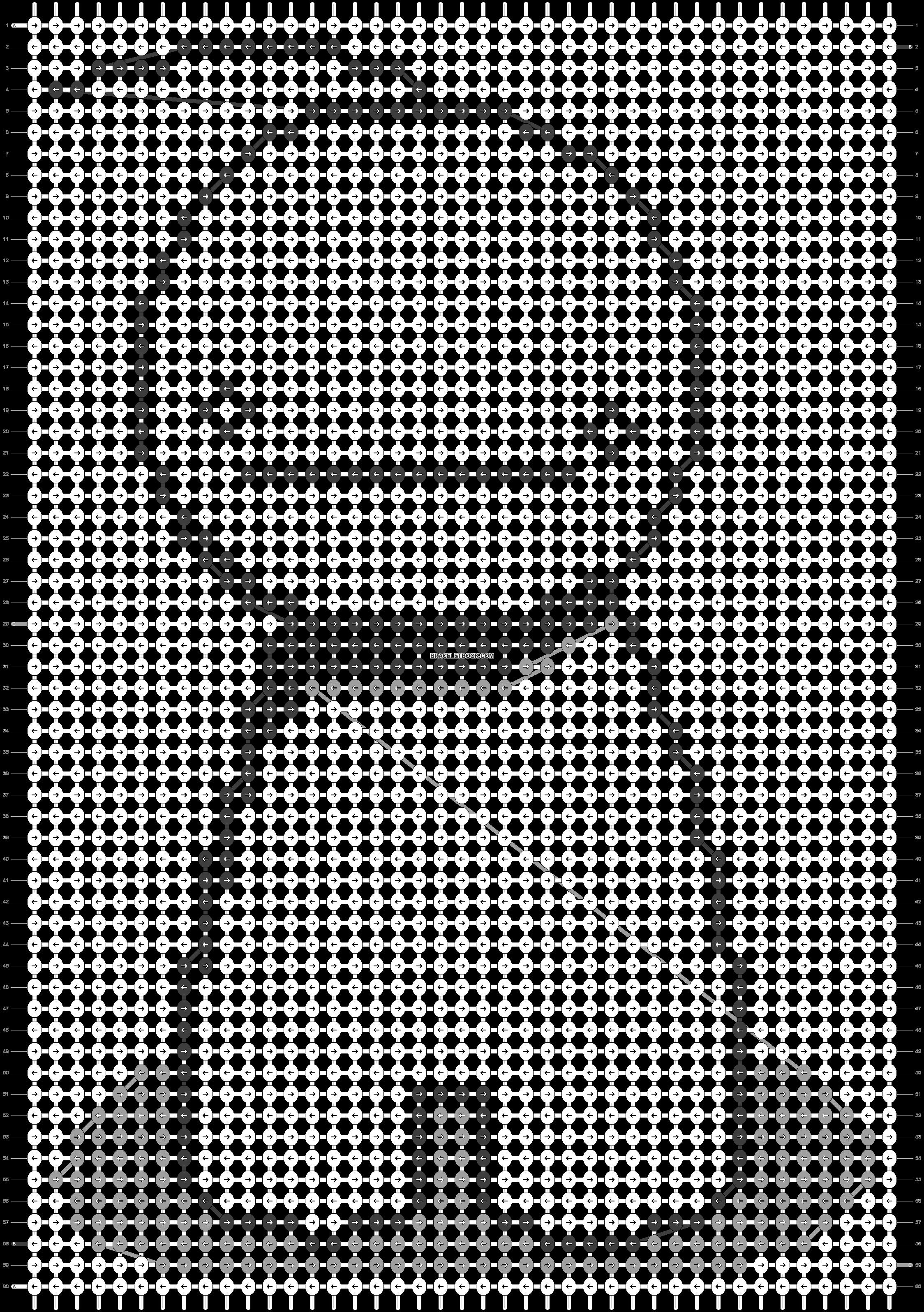 Alpha pattern #14869 pattern