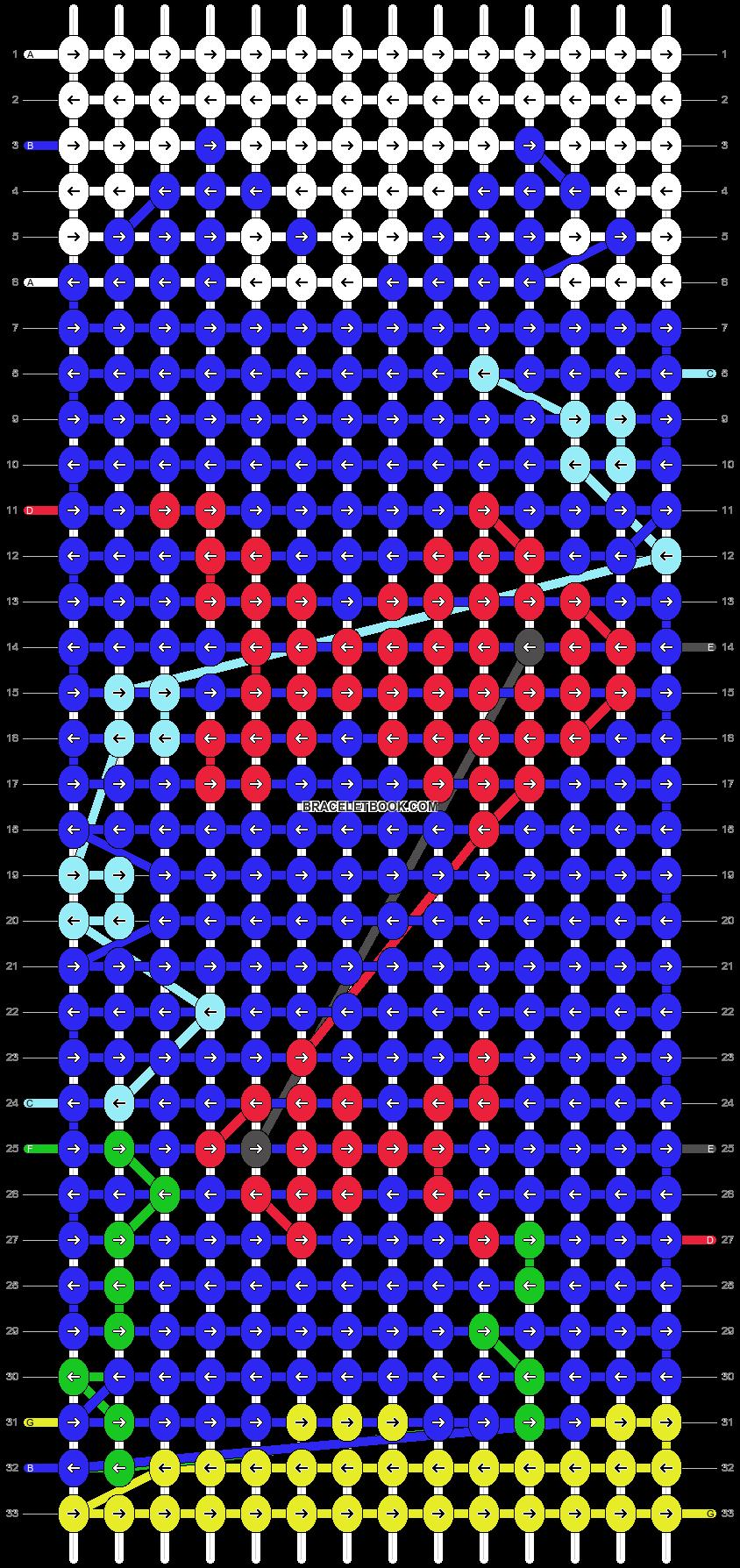 Alpha pattern #14884 pattern