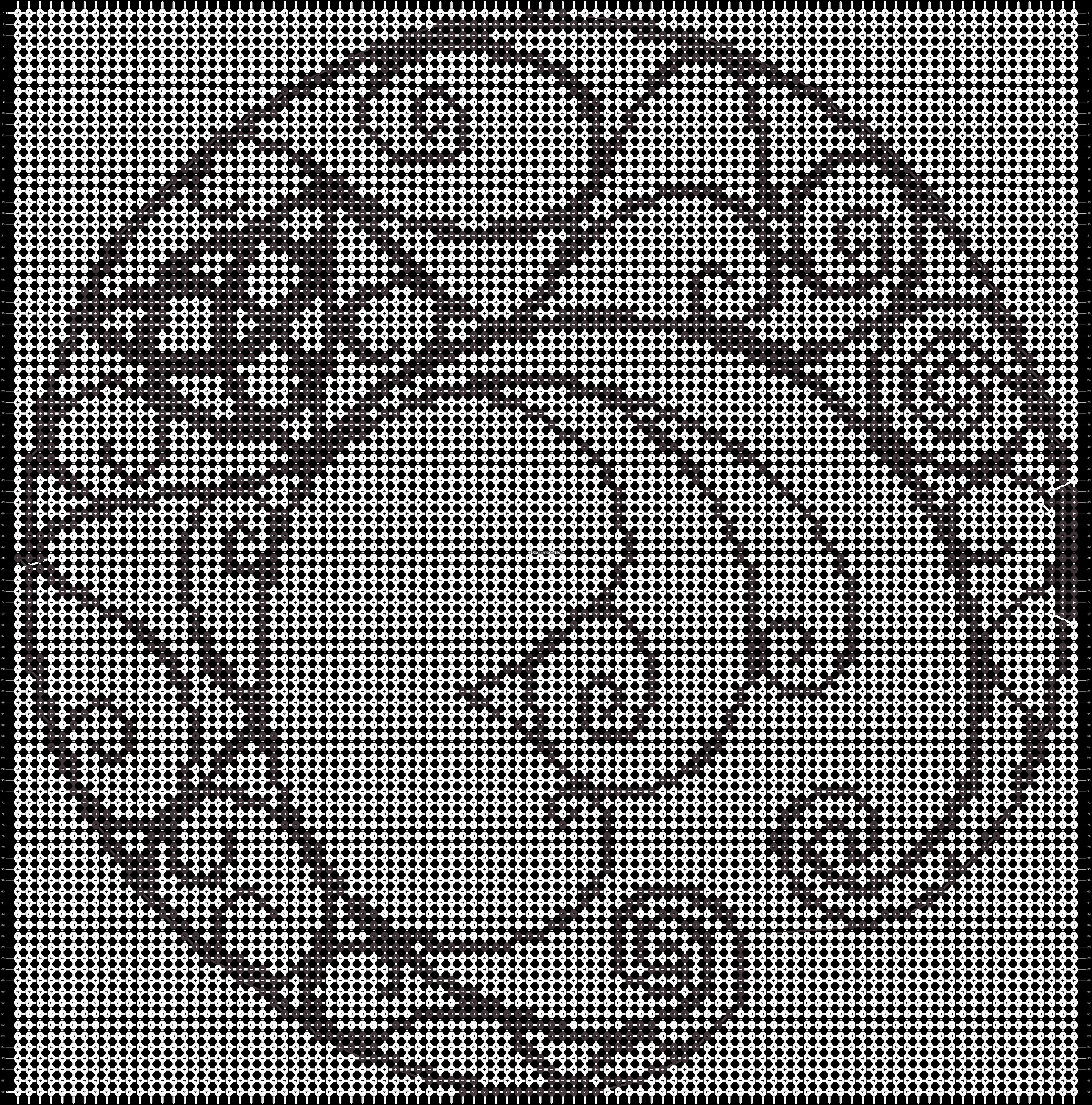Alpha pattern #14889 pattern