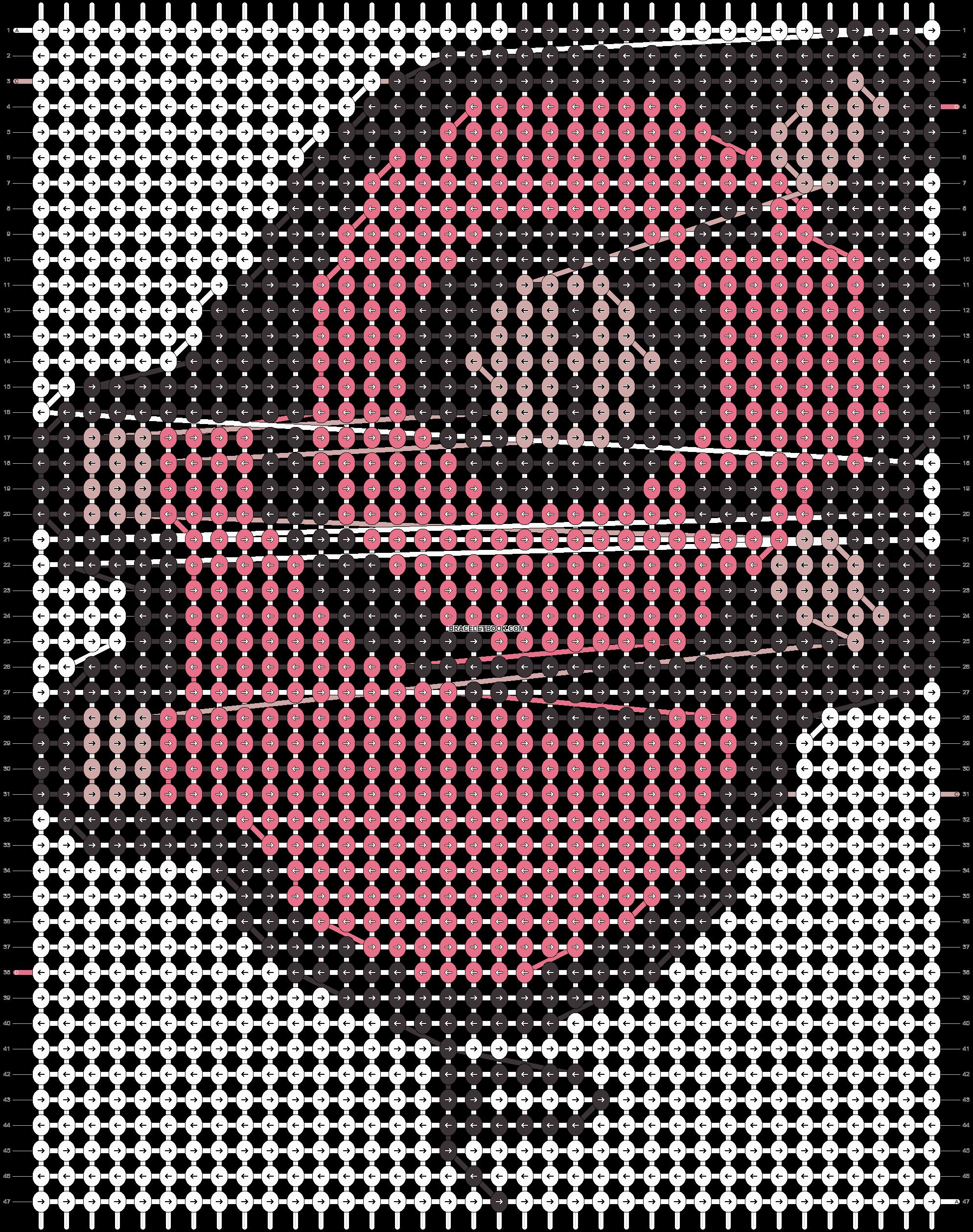 Alpha pattern #14896 pattern