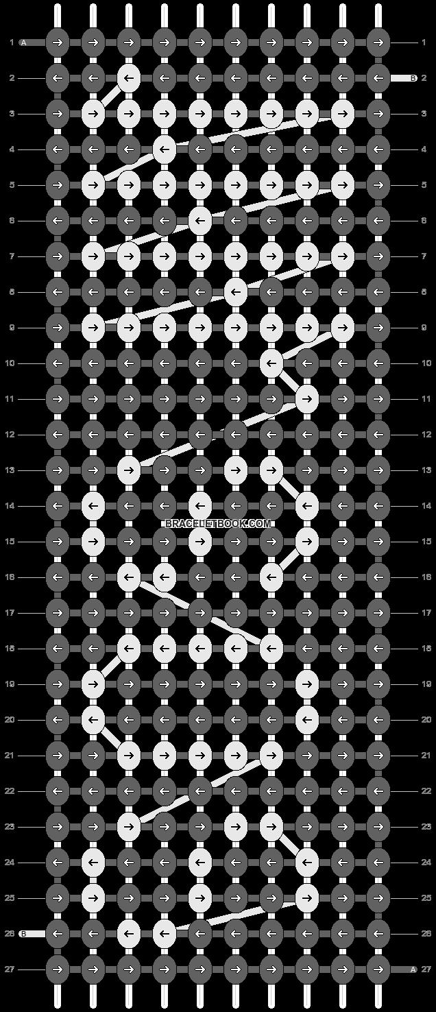 Alpha pattern #14897 pattern