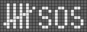 Alpha pattern #14897