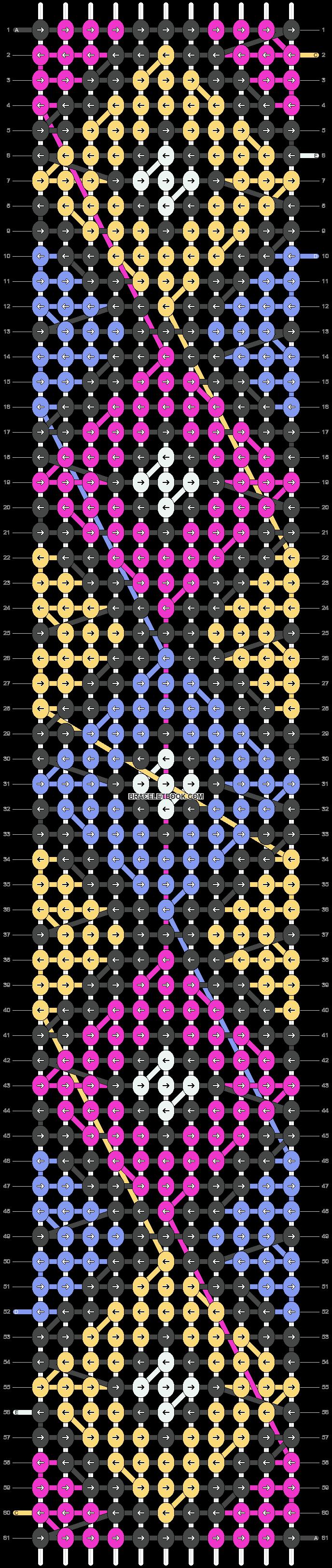 Alpha pattern #14911 pattern