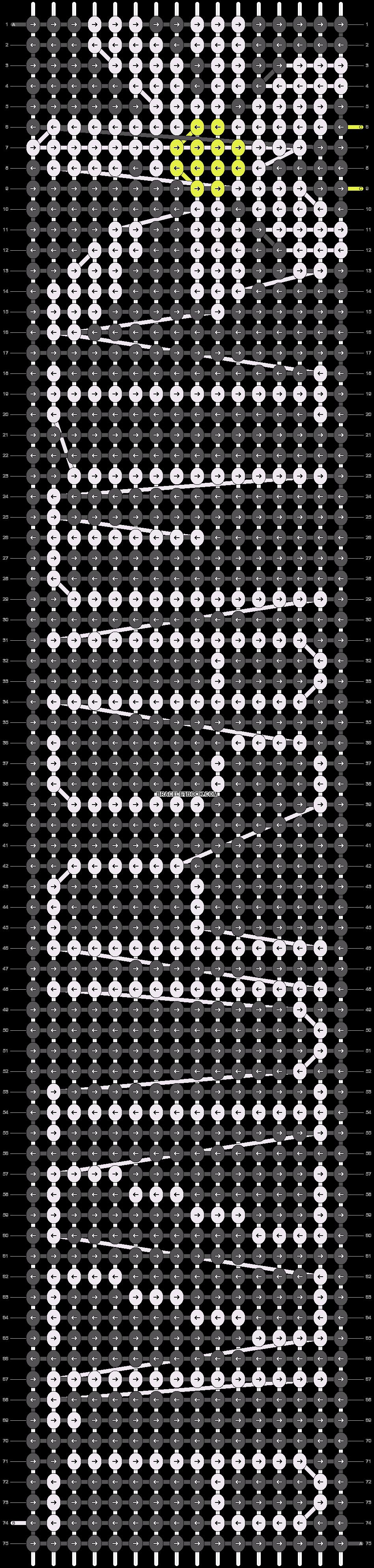 Alpha pattern #14913 pattern