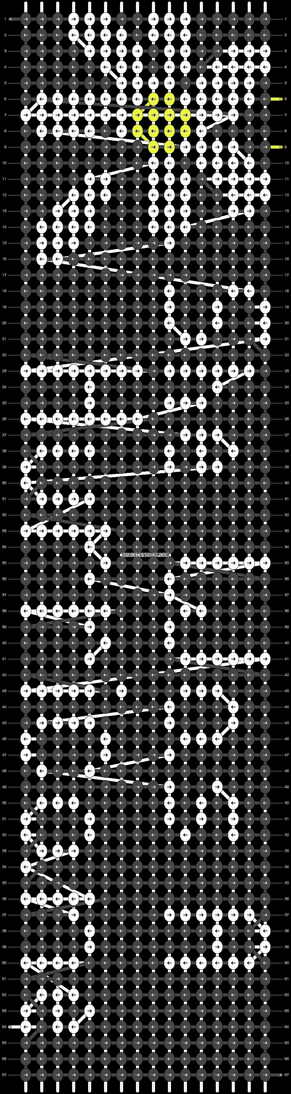 Alpha pattern #14915 pattern