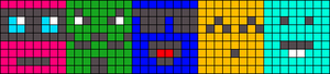 Alpha pattern #14921