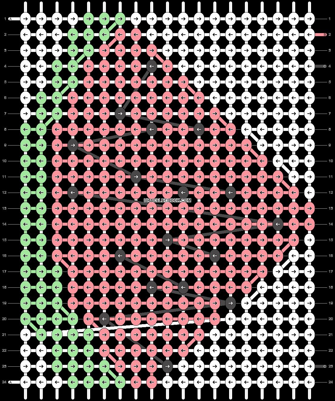 Alpha pattern #14933 pattern