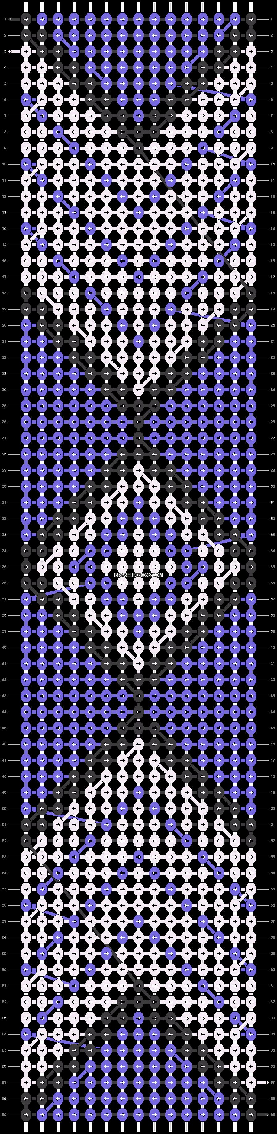 Alpha pattern #14935 pattern