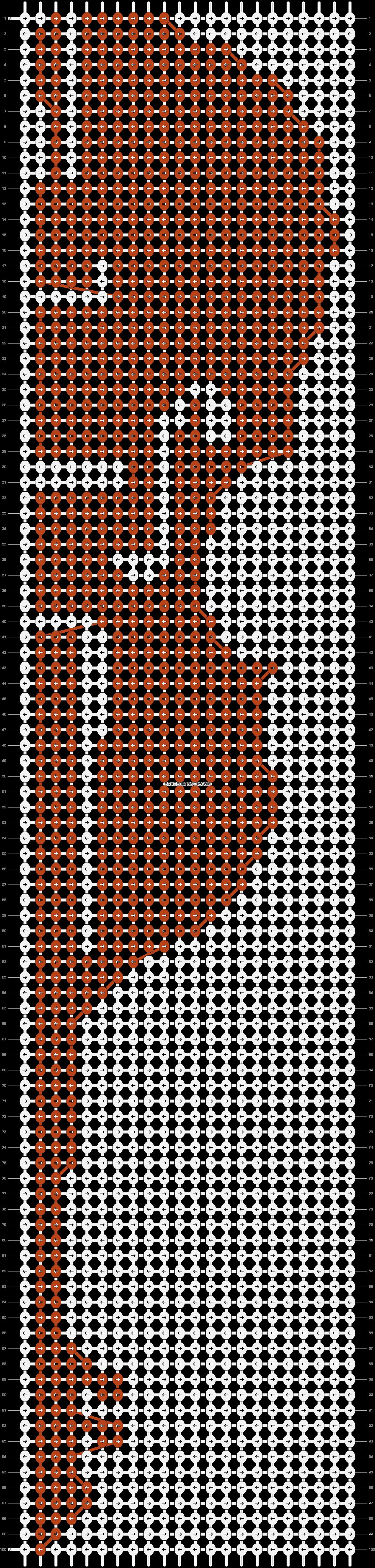 Alpha pattern #14940 pattern