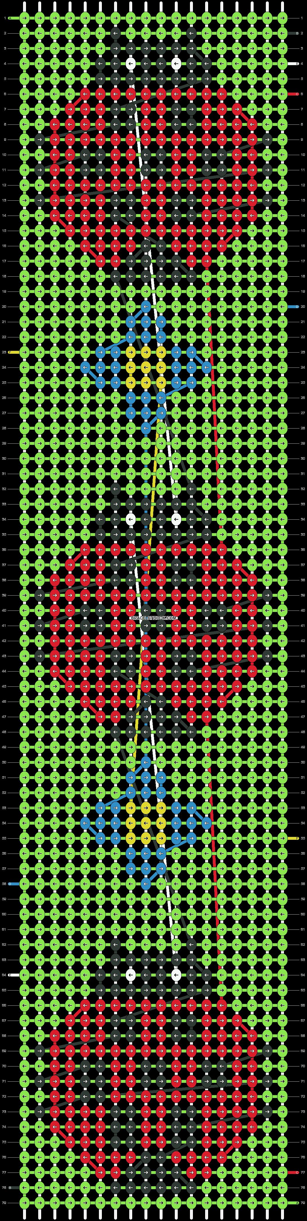 Alpha pattern #14945 pattern