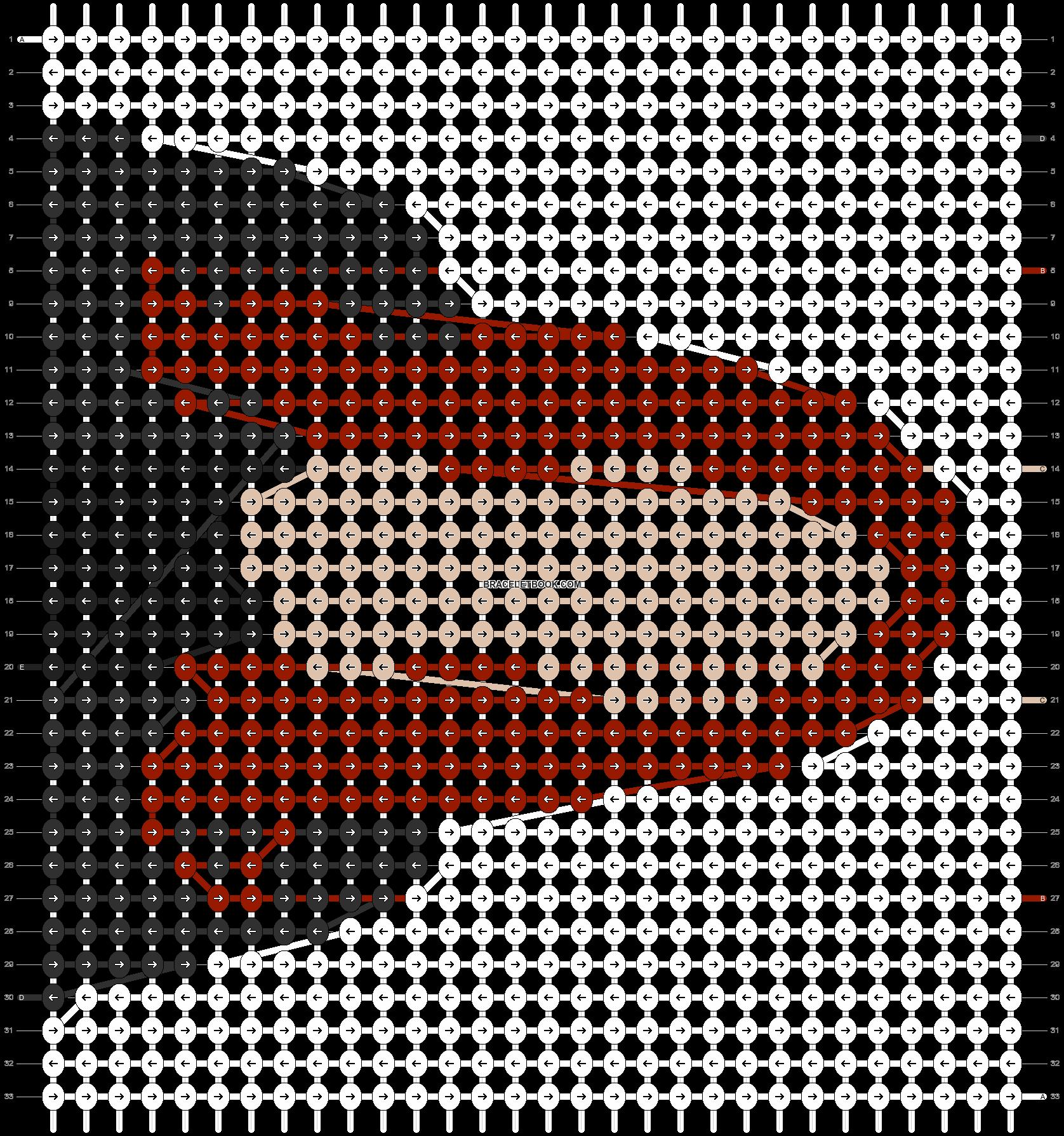 Alpha pattern #14946 pattern
