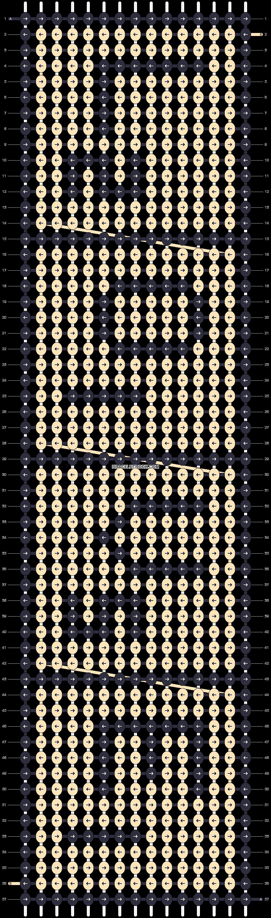 Alpha pattern #14950 pattern