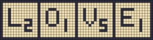 Alpha Friendship Bracelet Pattern #14950