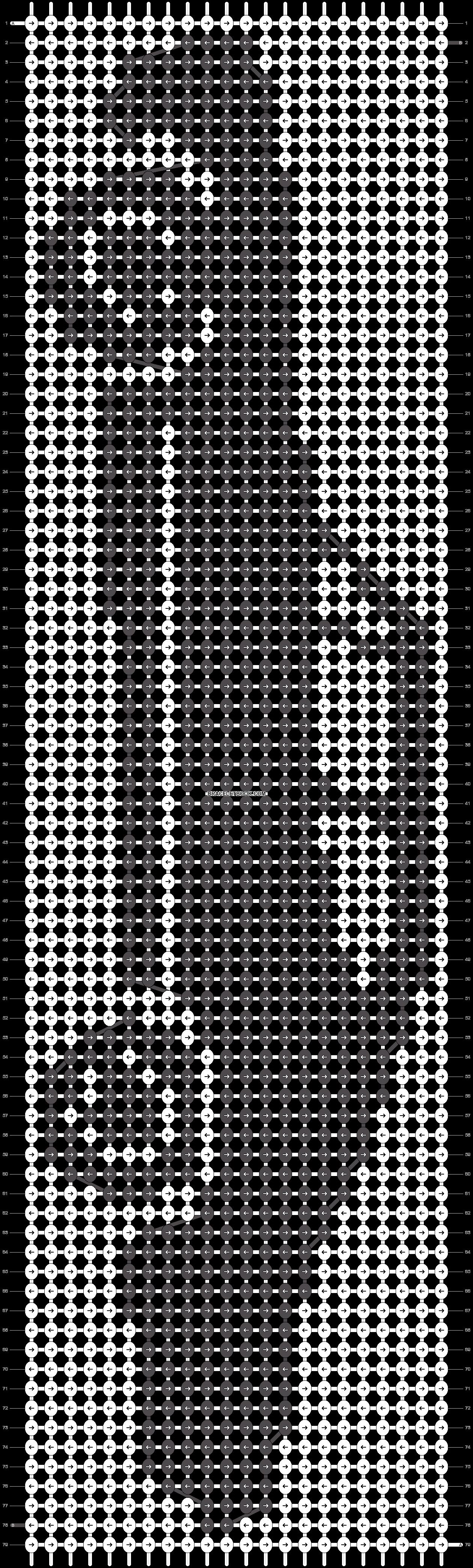 Alpha pattern #14961 pattern