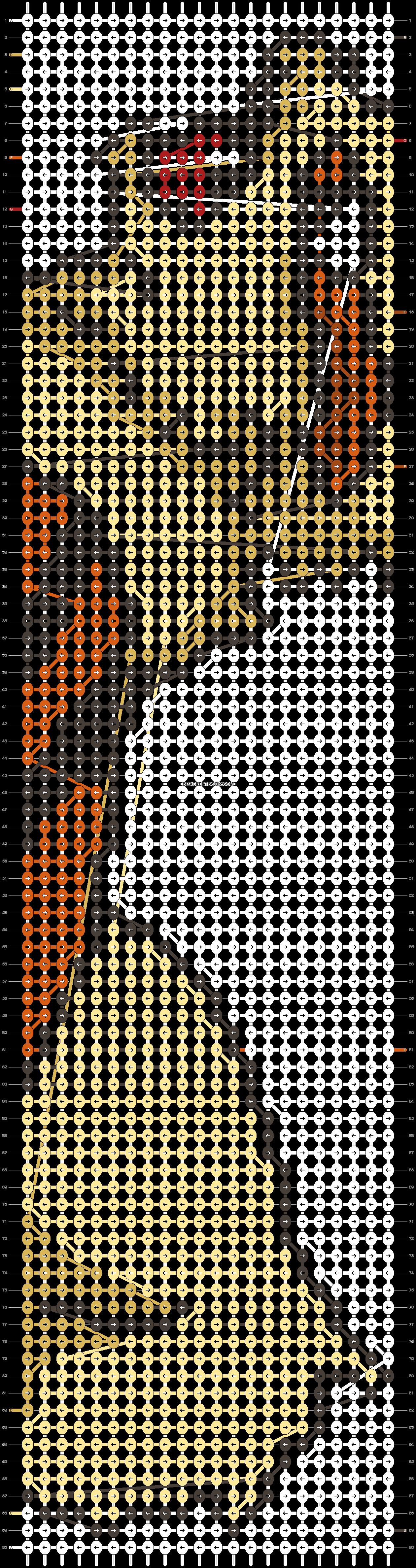 Alpha pattern #14965 pattern