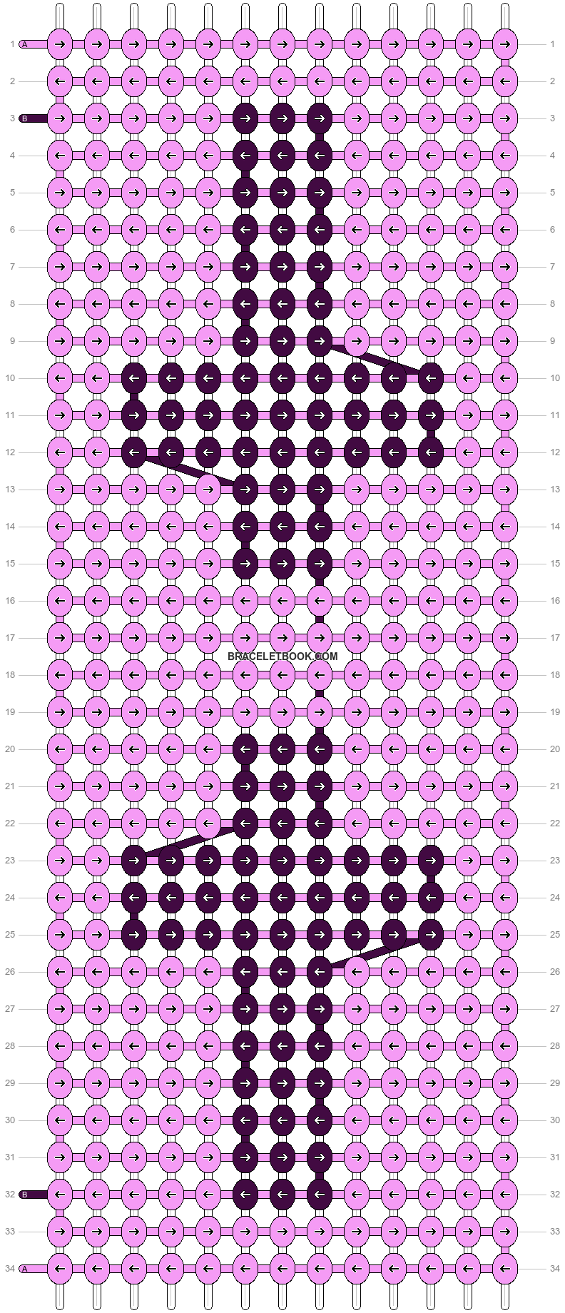 Alpha pattern #14967 pattern