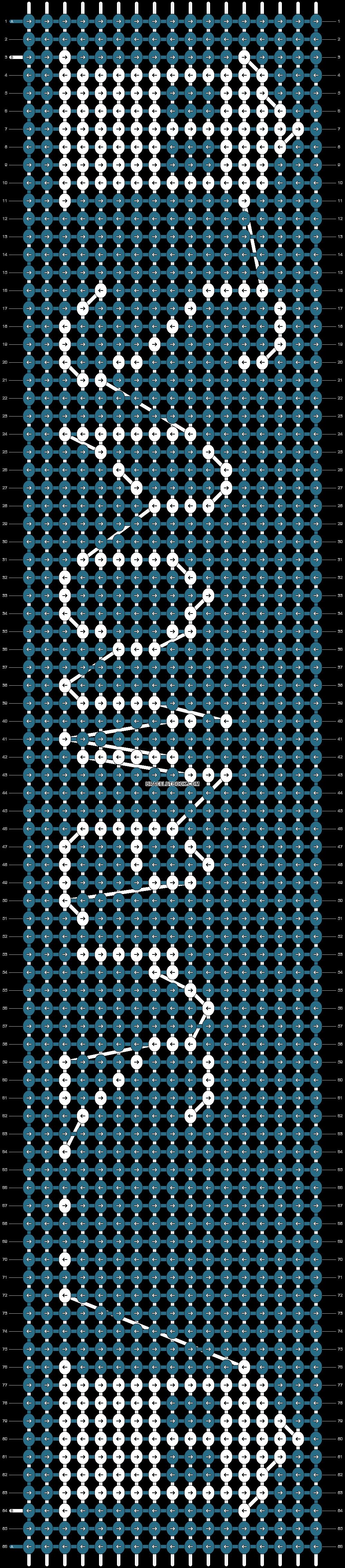 Alpha pattern #14993 pattern