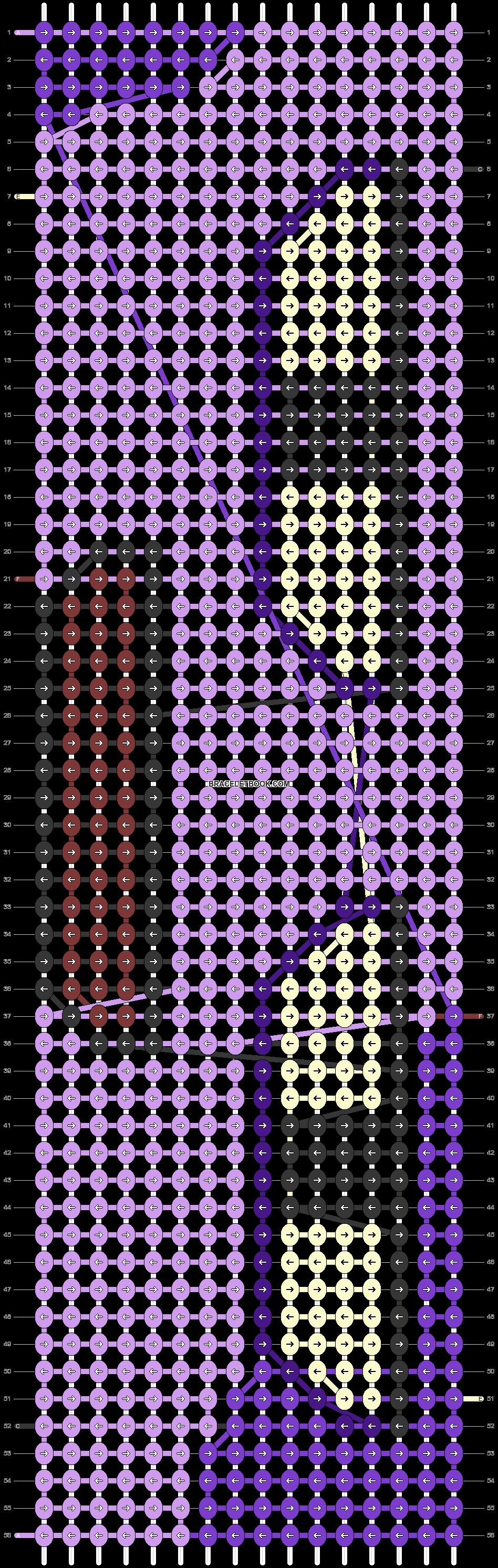 Alpha pattern #14995 pattern