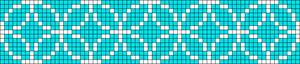 Alpha Friendship Bracelet Pattern #14996