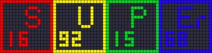 Alpha pattern #15004