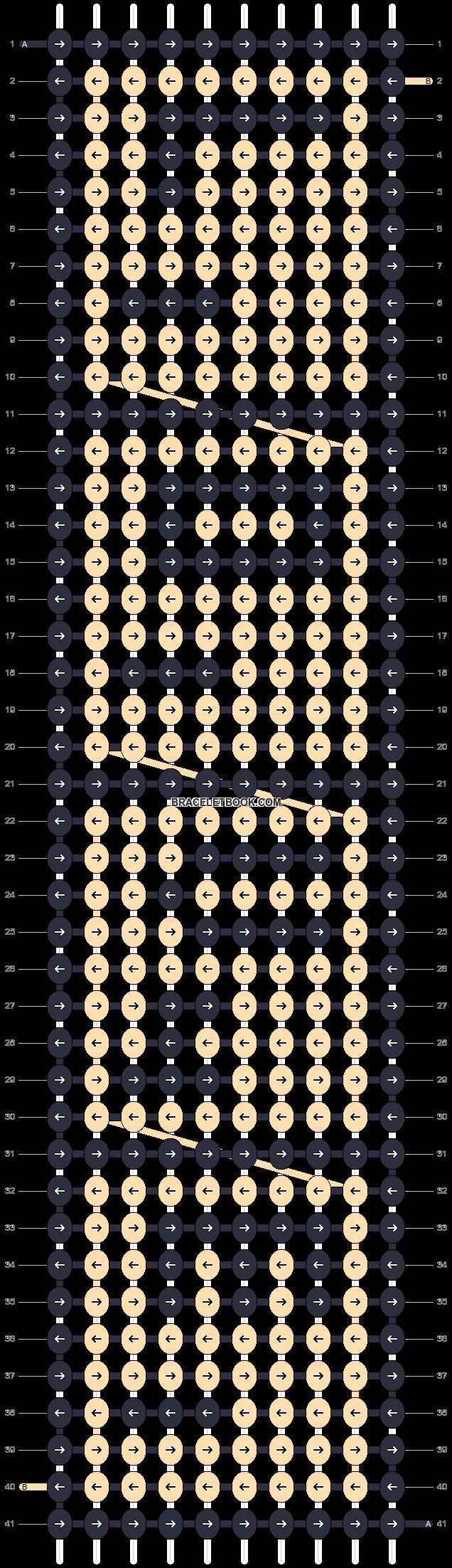 Alpha pattern #15005 pattern