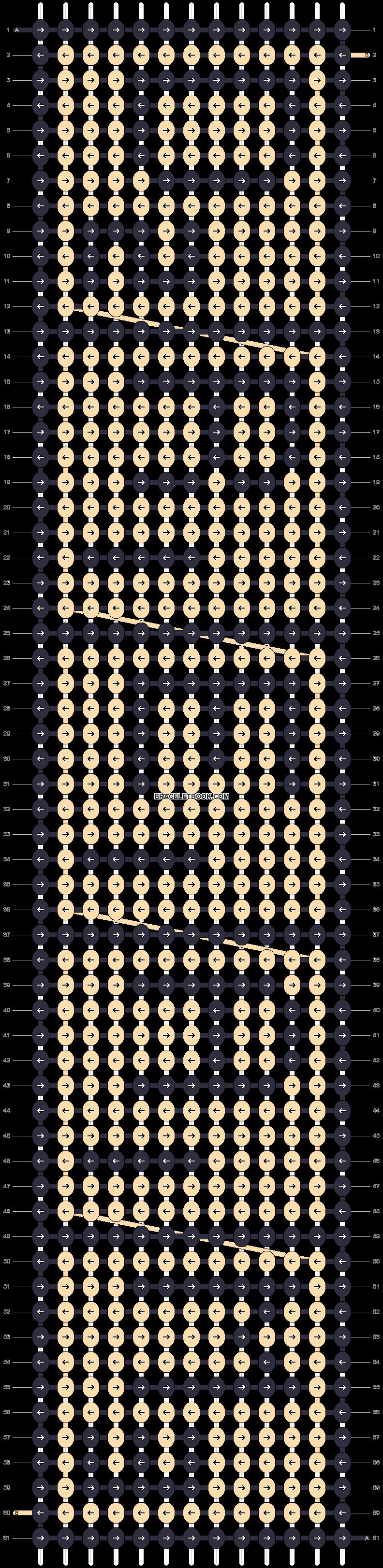 Alpha pattern #15006 pattern