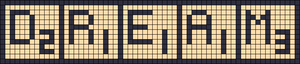 Alpha pattern #15006