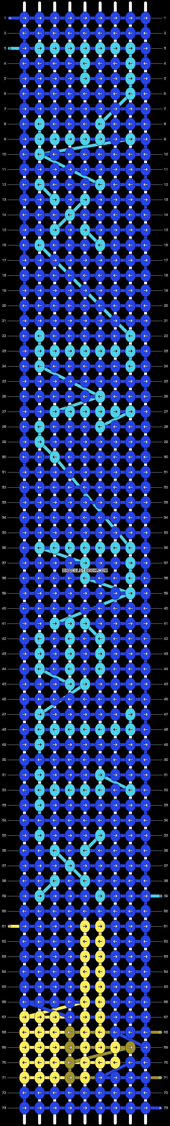 Alpha pattern #15009 pattern
