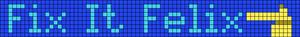 Alpha Friendship Bracelet Pattern #15009