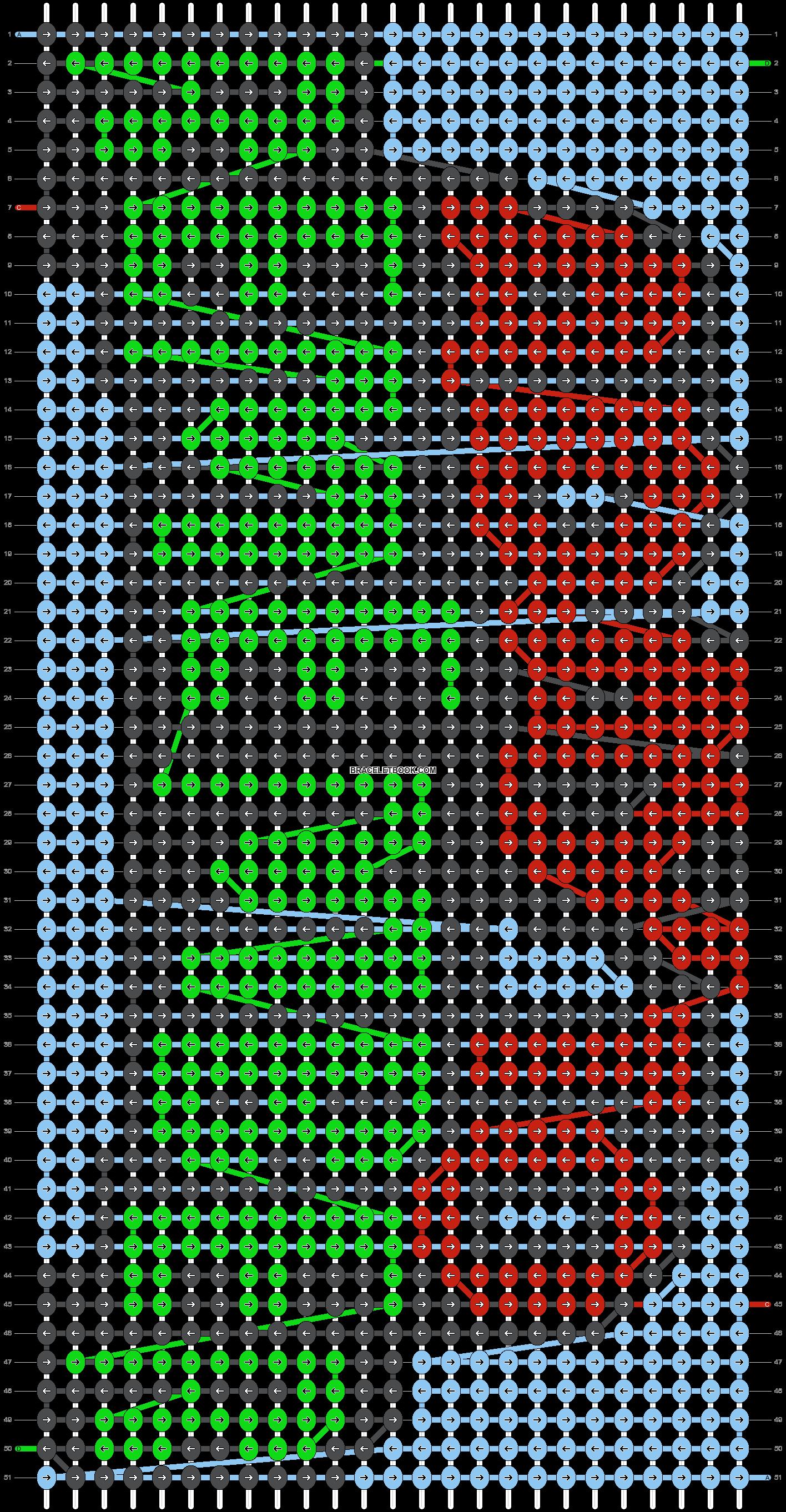 Alpha pattern #15010 pattern