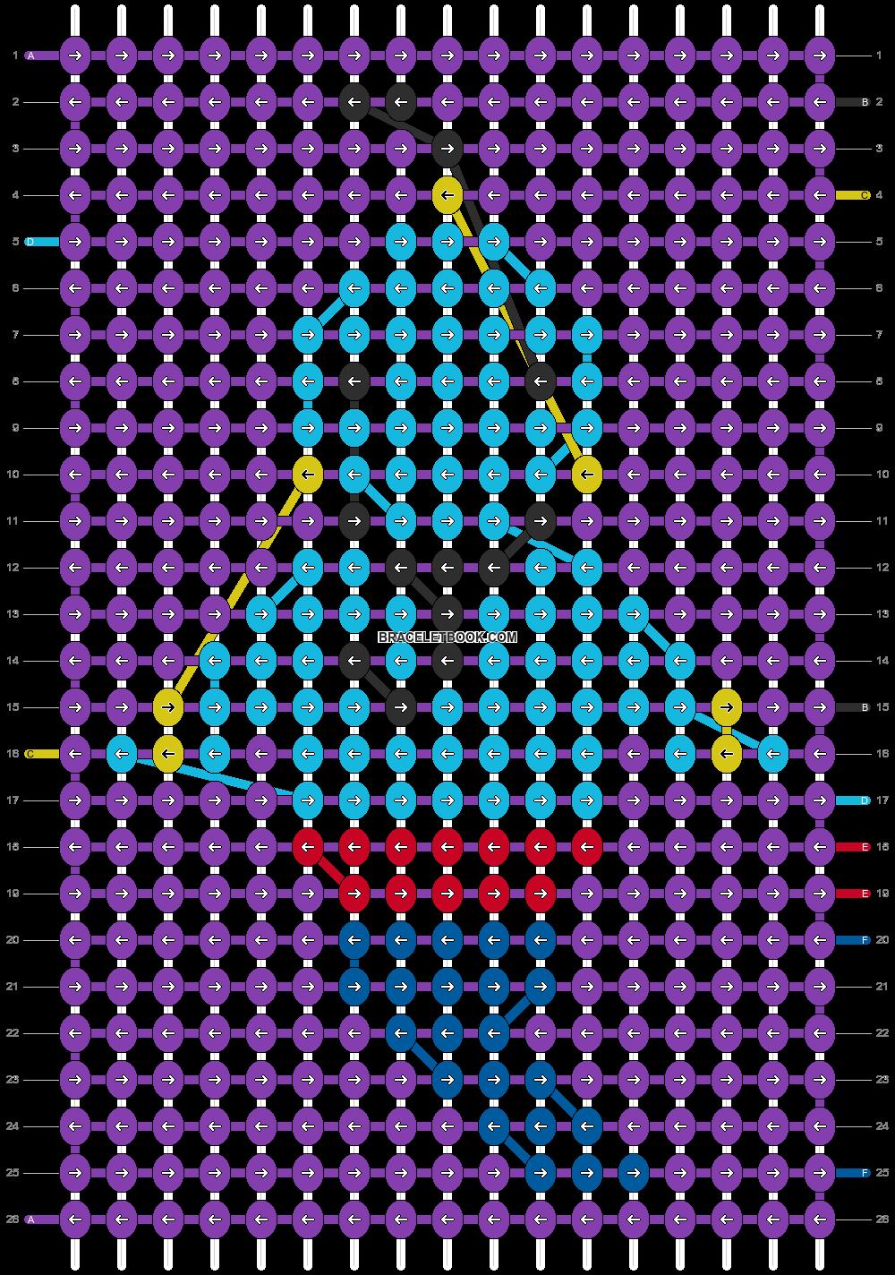 Alpha pattern #15011 pattern