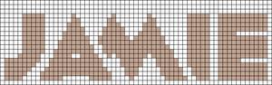 Alpha Friendship Bracelet Pattern #15016