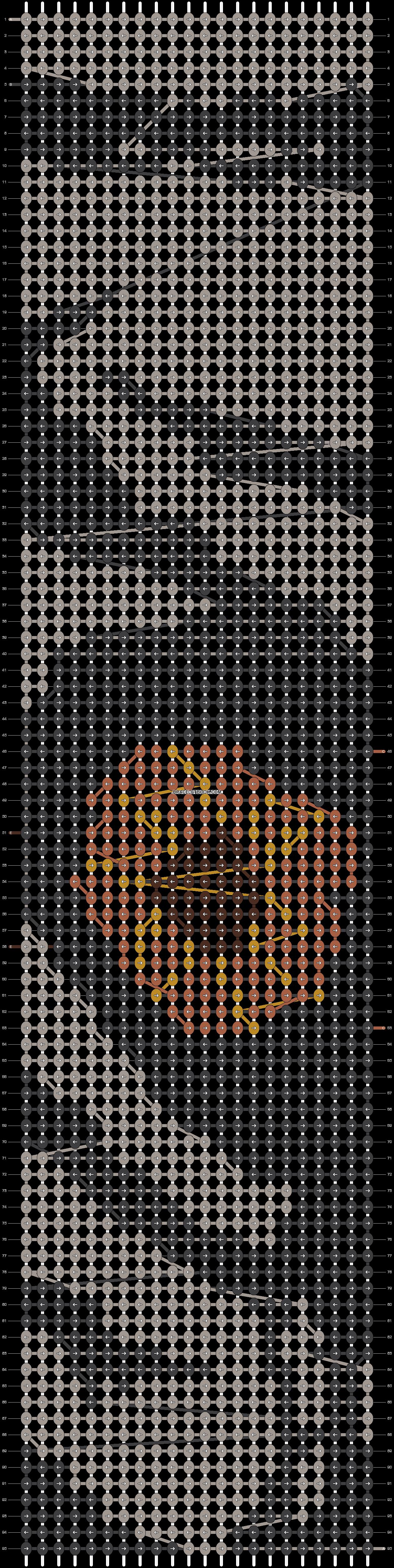 Alpha pattern #15017 pattern