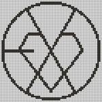 Alpha pattern #15018