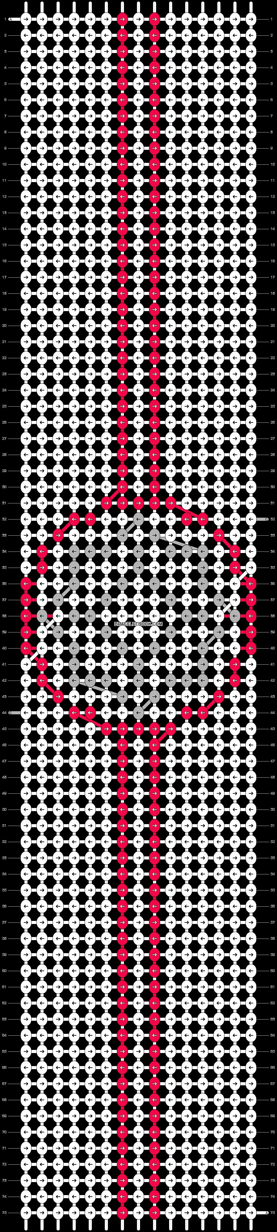 Alpha pattern #15022 pattern
