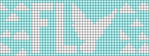 Alpha Friendship Bracelet Pattern #15034