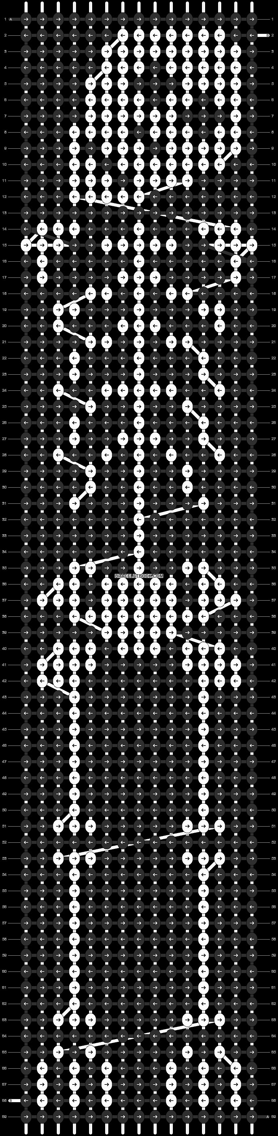 Alpha pattern #15036 pattern