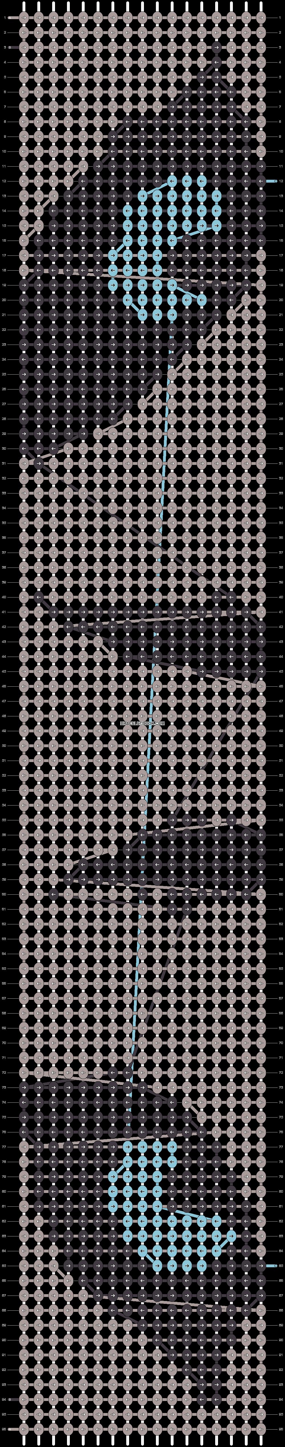 Alpha pattern #15037 pattern