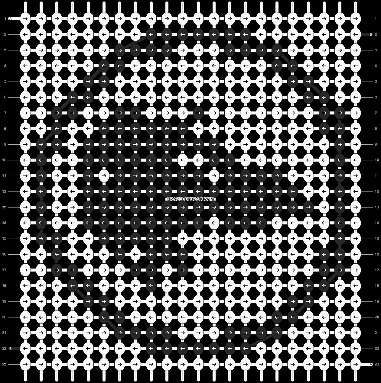 Alpha pattern #15039 pattern