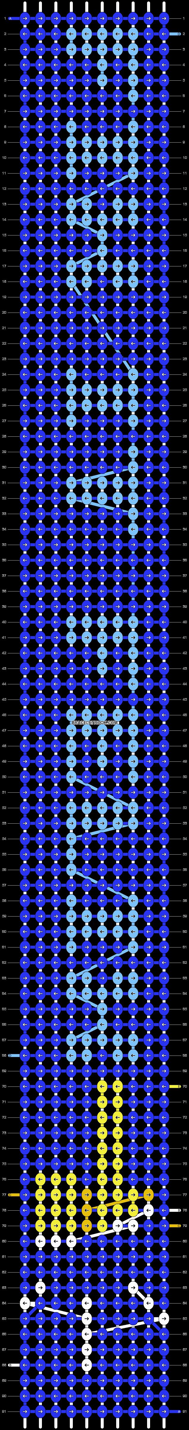 Alpha pattern #15040 pattern