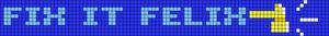 Alpha Friendship Bracelet Pattern #15040