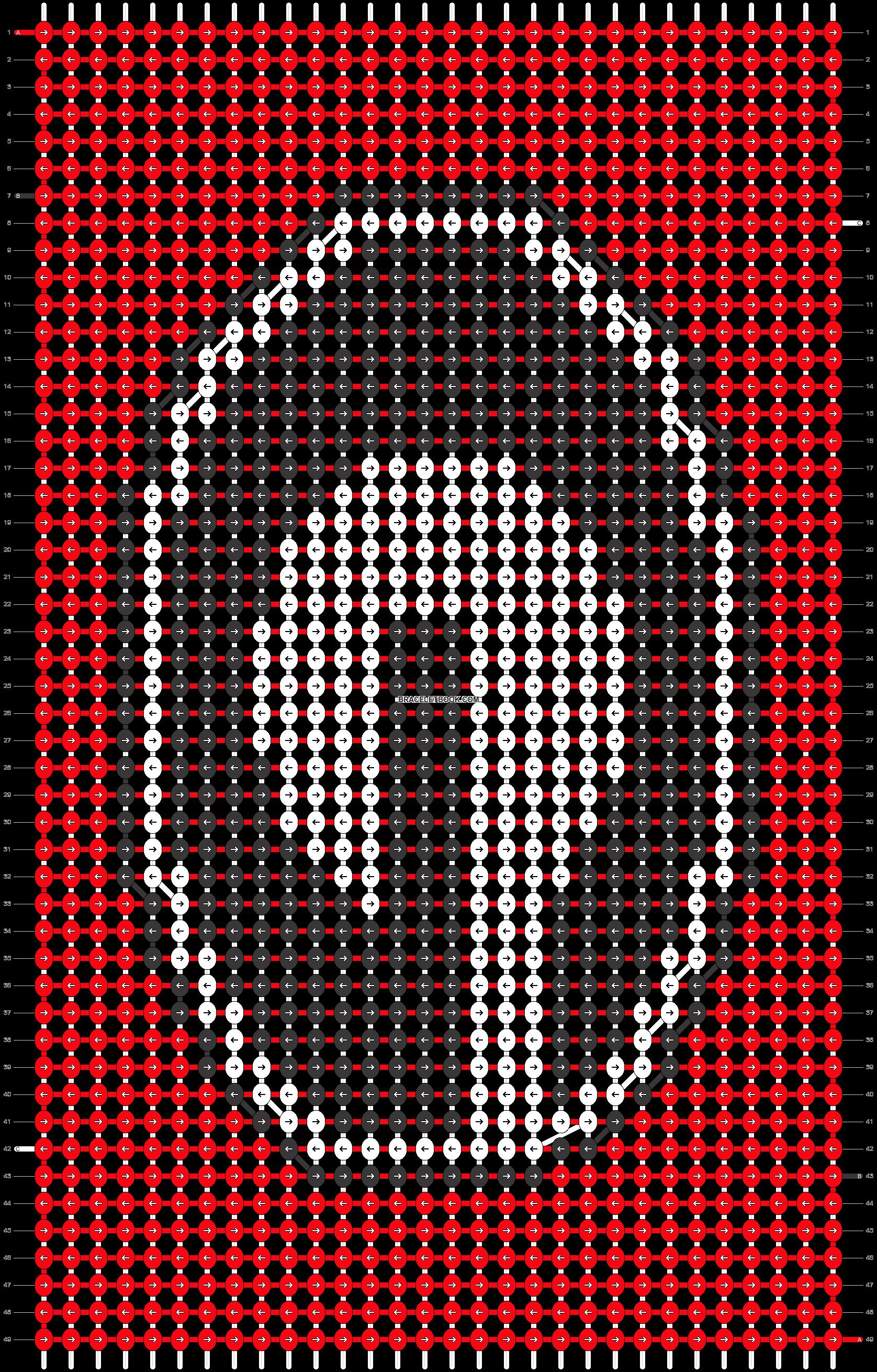 Alpha pattern #15043 pattern