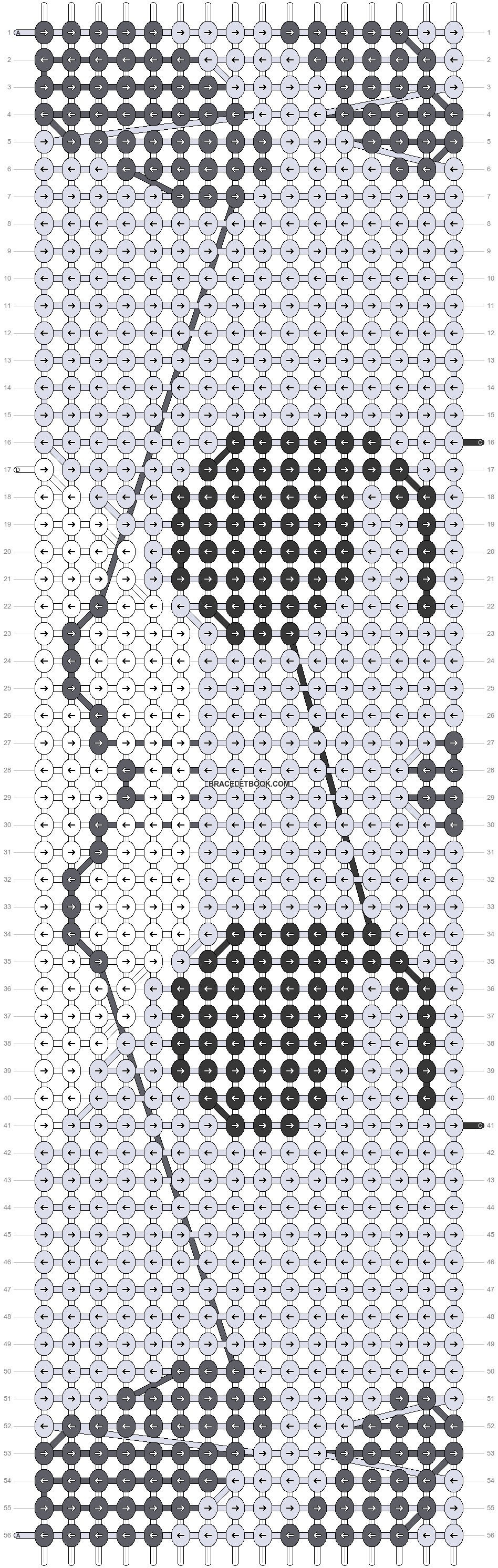 Alpha pattern #15044 pattern