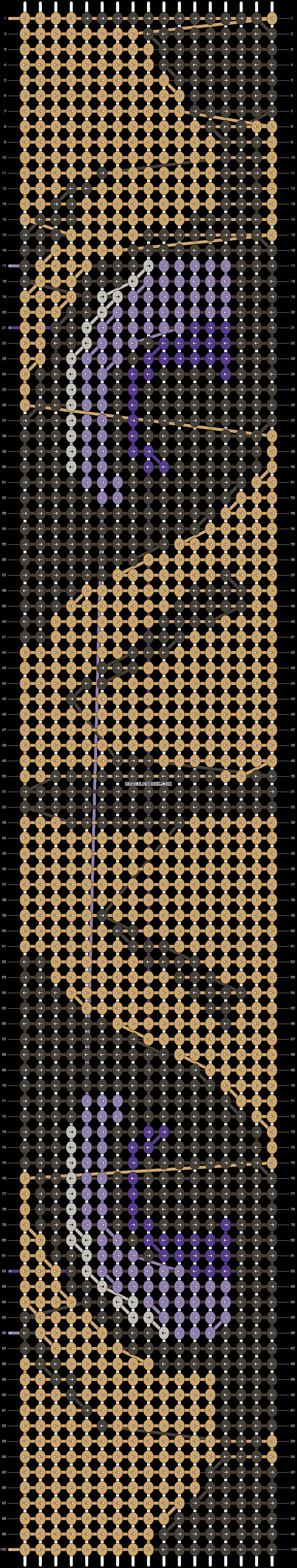 Alpha pattern #15045 pattern