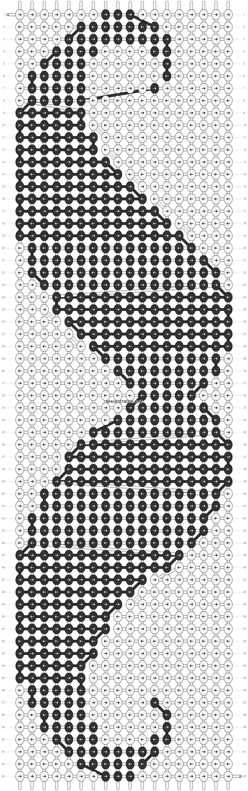 Alpha pattern #15047 pattern